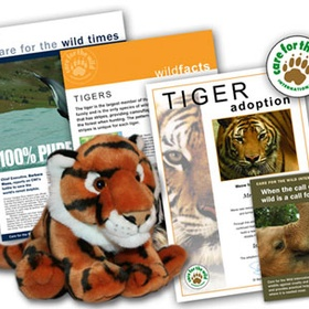 Adopt a tiger from the World Wildlife fund - Bucket List Ideas