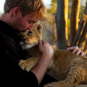 Hug a Baby Lion - Bucket List Ideas