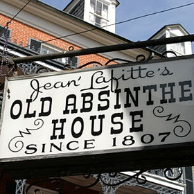 Drink Absinthe at The Old Absinthe House - Bucket List Ideas