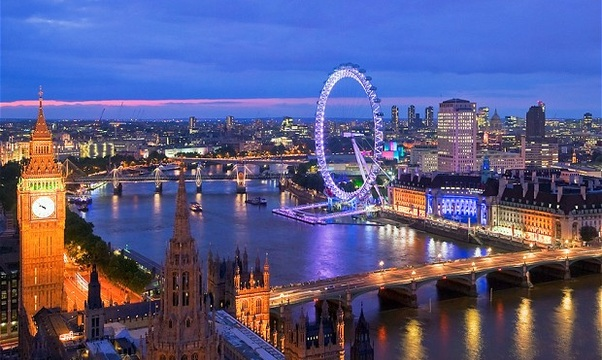 Go to London - Bucket List Ideas