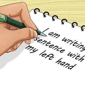 Learn to Write with My Left Hand - Bucket List Ideas