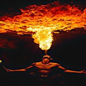 Blow 15-feet of fire - Bucket List Ideas