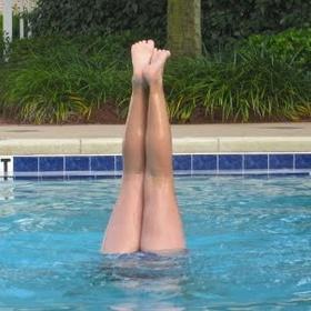 Learn to do a pool handstand - Bucket List Ideas
