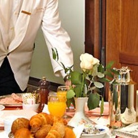 Order room service at a hotel - Bucket List Ideas