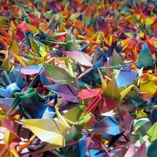 Fold 1000 paper cranes - Bucket List Ideas