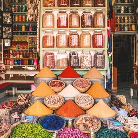 Take a tour through the medinas of Marrakech or Fez to buy souvenirs, Morocco - Bucket List Ideas