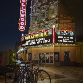 Watch a Movie at the Hollywood Theatre in Portland, OR - Bucket List Ideas