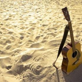 Play guitar on the beach - Bucket List Ideas