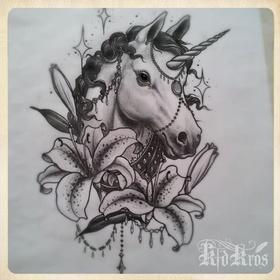 Get a unicorn tattoo - Bucket List Ideas