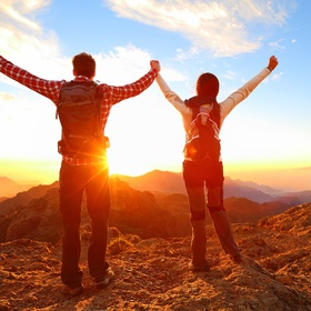 Stand on Top of a Mountain with My Love - Bucket List Ideas