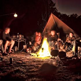 Camp Around a Bonfire On a Beach - Bucket List Ideas