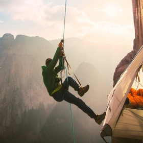 Pitching a tent on a cliff side and take a nap! - Bucket List Ideas