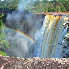 Go see Kaieteur Falls in Guyana - Bucket List Ideas