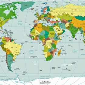 Have been to five countries - Bucket List Ideas