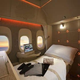 Travel by plane in first class - Bucket List Ideas