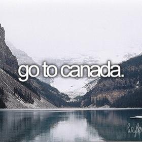 Visit Canada - Bucket List Ideas