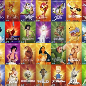 Watch all of the Disney Classic Movies - Bucket List Ideas
