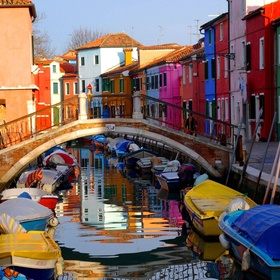 See the mad colored houses of Burano, Italy - Bucket List Ideas