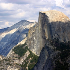Climb the Half Dome in Yosemite (all the way up the cables) - Bucket List Ideas