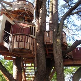 Sleep in a Treehouse - Bucket List Ideas