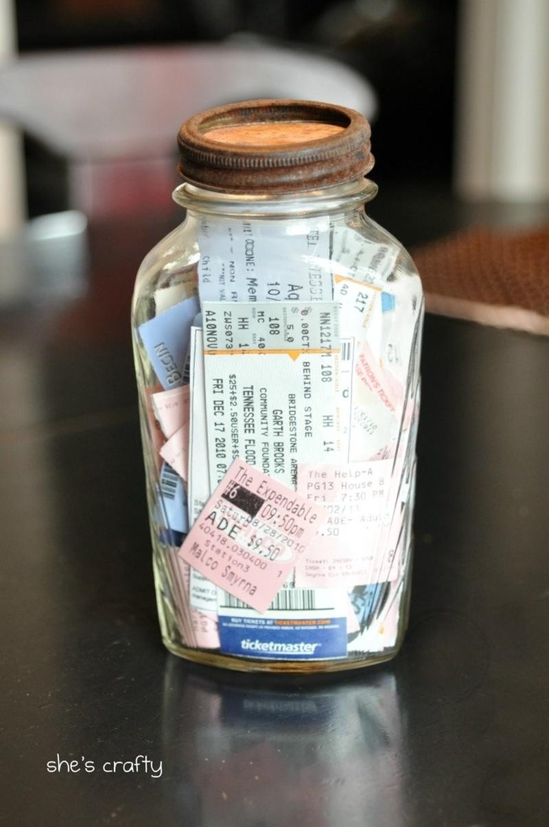 Bucketlist Start A Memory Jar Official Bucket List
