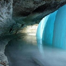 Be inside of waterful - Bucket List Ideas