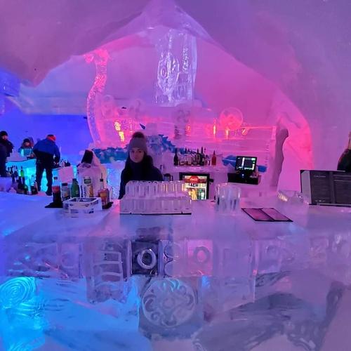Igloo/Ice Bar - Bucket List Ideas