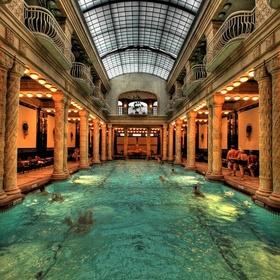 Visit the Gellért Bath in Budapest - Bucket List Ideas