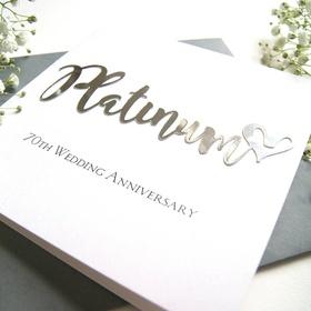 Celebrate Our Platinum Anniversary - Bucket List Ideas