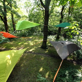Sleep in a tentsile tree tent - Bucket List Ideas