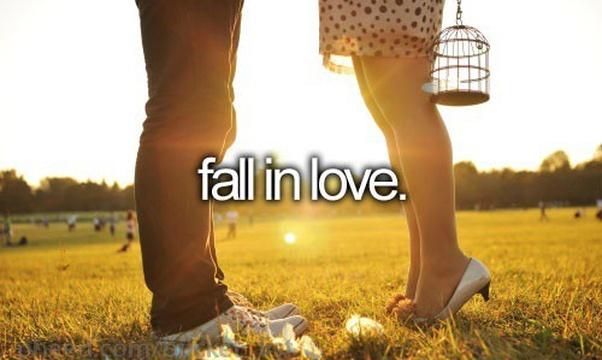 Fall in love <3 - Bucket List Ideas