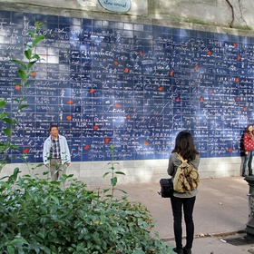 """See the """"I love you"""" wall in Paris - Bucket List Ideas"""