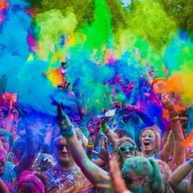 Run A color Run - Bucket List Ideas