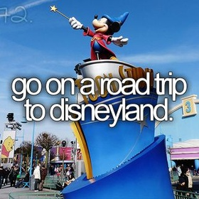 Ride every rides and watch every show in Disneyland with family - Bucket List Ideas