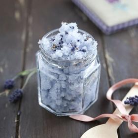 DIY, Rosemary Lavender Salt Scrub - Bucket List Ideas
