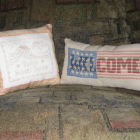 Cross Stitch and turn it into a pillow - Bucket List Ideas
