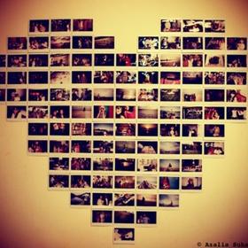 Create a Polaroid wall - Bucket List Ideas