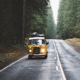 Live and travel in a van for some time - Bucket List Ideas