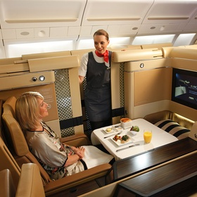 ⚜️Fly First Class on a Plane - Bucket List Ideas