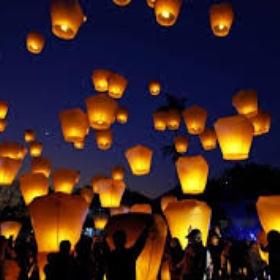 Release a Chinese Lantern - Bucket List Ideas
