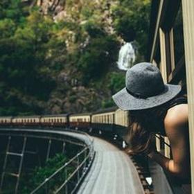 Take a trip by train or bus - Bucket List Ideas