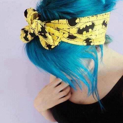 Dye my hair blue - Bucket List Ideas