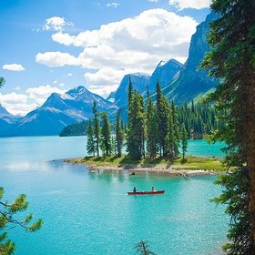 Kayak in One of the Amazing Lakes of Canada - Bucket List Ideas