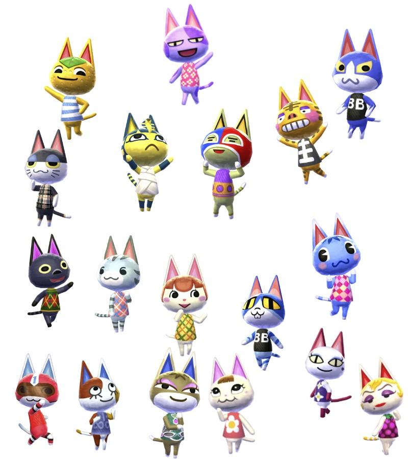 Bucketlist Draw Every Animal Crossing Villager Chelsea T