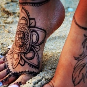 Get A Tattoo on my Foot - Bucket List Ideas
