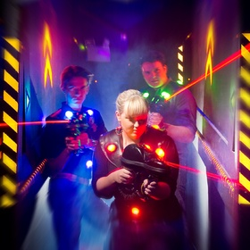 Laser Tag with friends - Bucket List Ideas