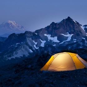 Sleep on the top of a mountain - Bucket List Ideas