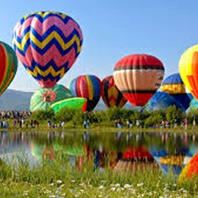 Float Across the Countryside in a Hot Air Balloon - Bucket List Ideas
