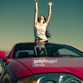 Ride in sun roof car - Bucket List Ideas