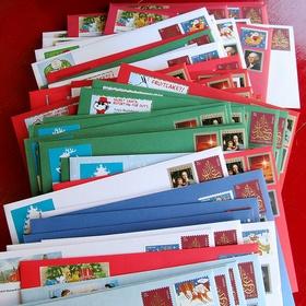 Christmas - Mail Cards - Bucket List Ideas